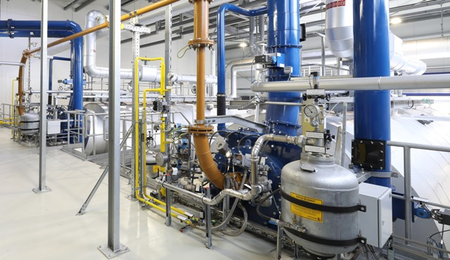 Inauguration of a high-efficiency cogeneration plant