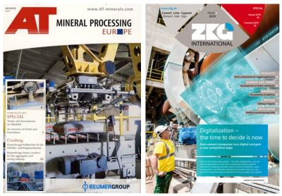 Preliminary report on POWTECH 2019 in AT Mineral Processing and ZKG